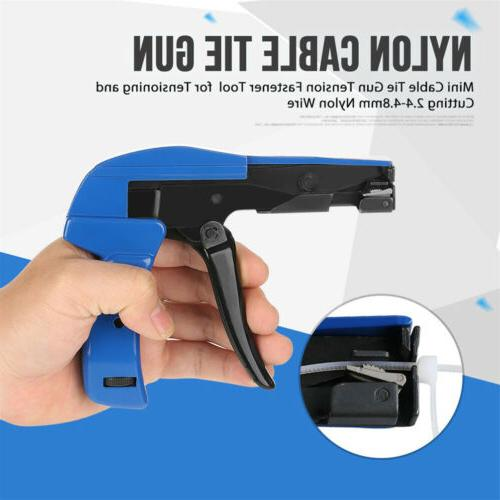 Professional Cable Wire Tie Gun Install Point Ties