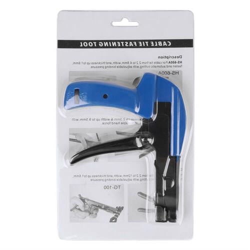 Professional Cable Gun Install Cut Point Zip Ties
