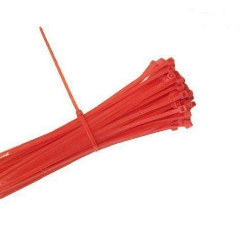 red 4 self locking nylon wire cable