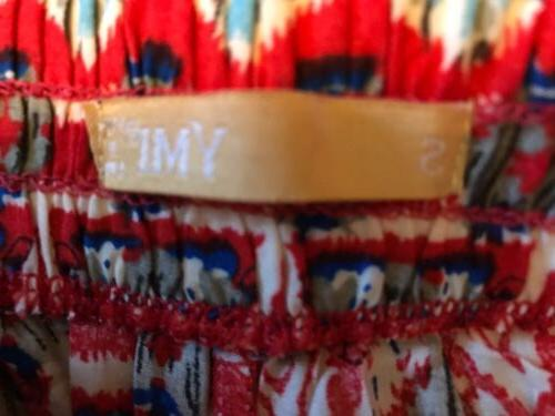 YMI Red Tie Small Zip NWT