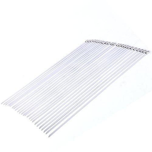 """9milelake 25 Stainless Steel Ball Cable Ties 8"""" BD-200x25"""