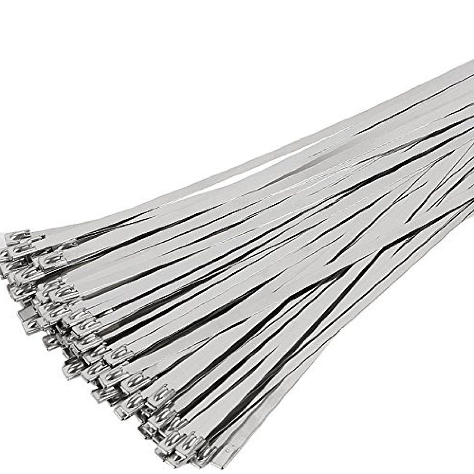 100 Stainless Exhaust Cable Zip Bulk