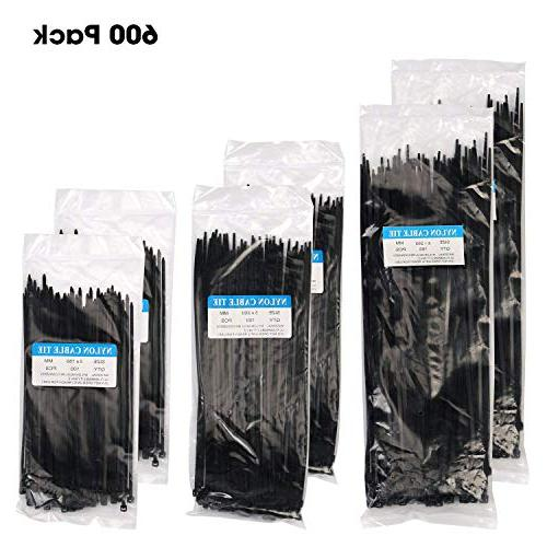 strong self locking nylon cable