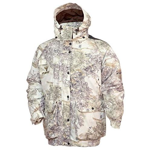 weather insulated parka jacket