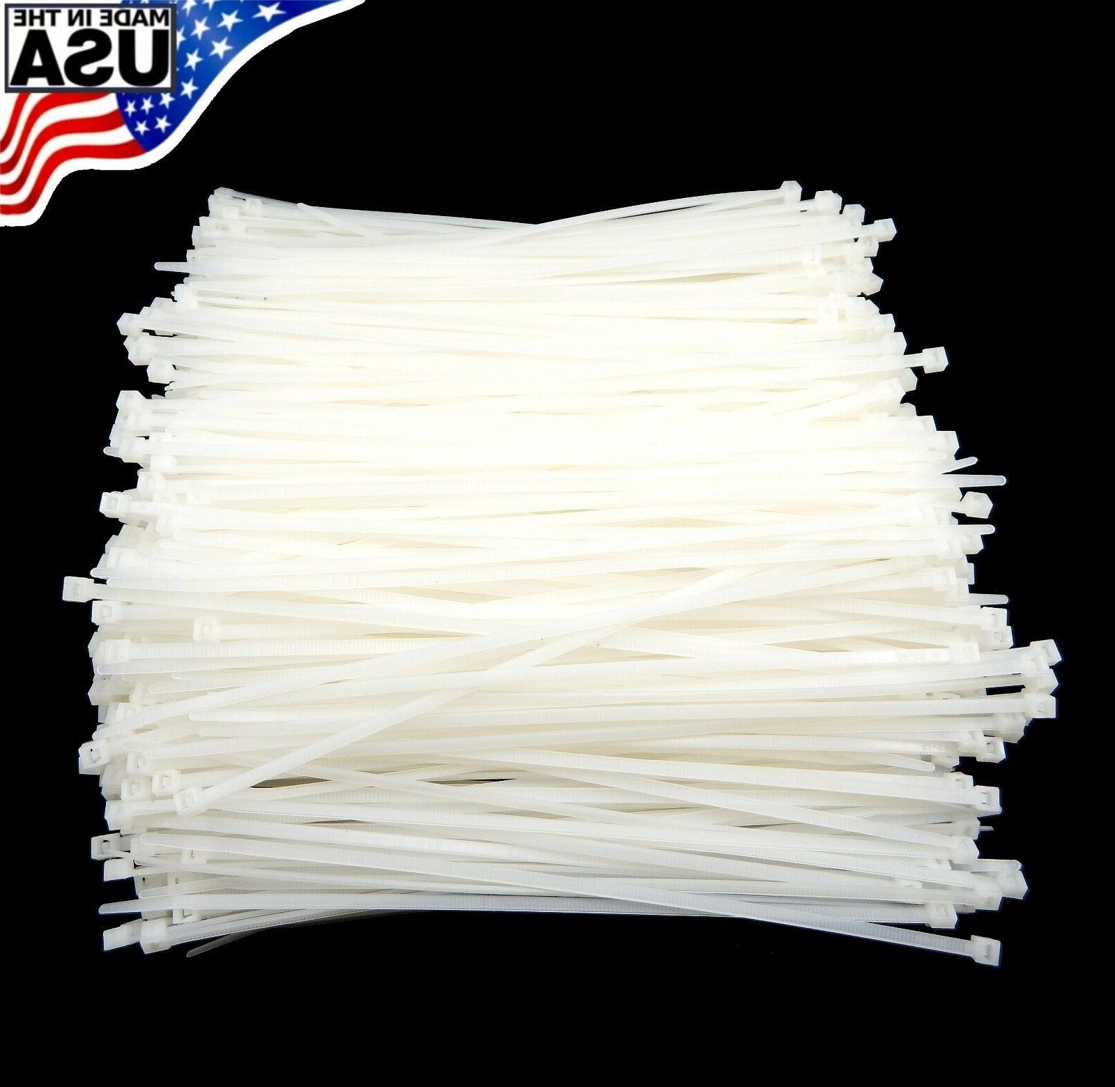 zip cable ties 8 40lbs 1000pc natural
