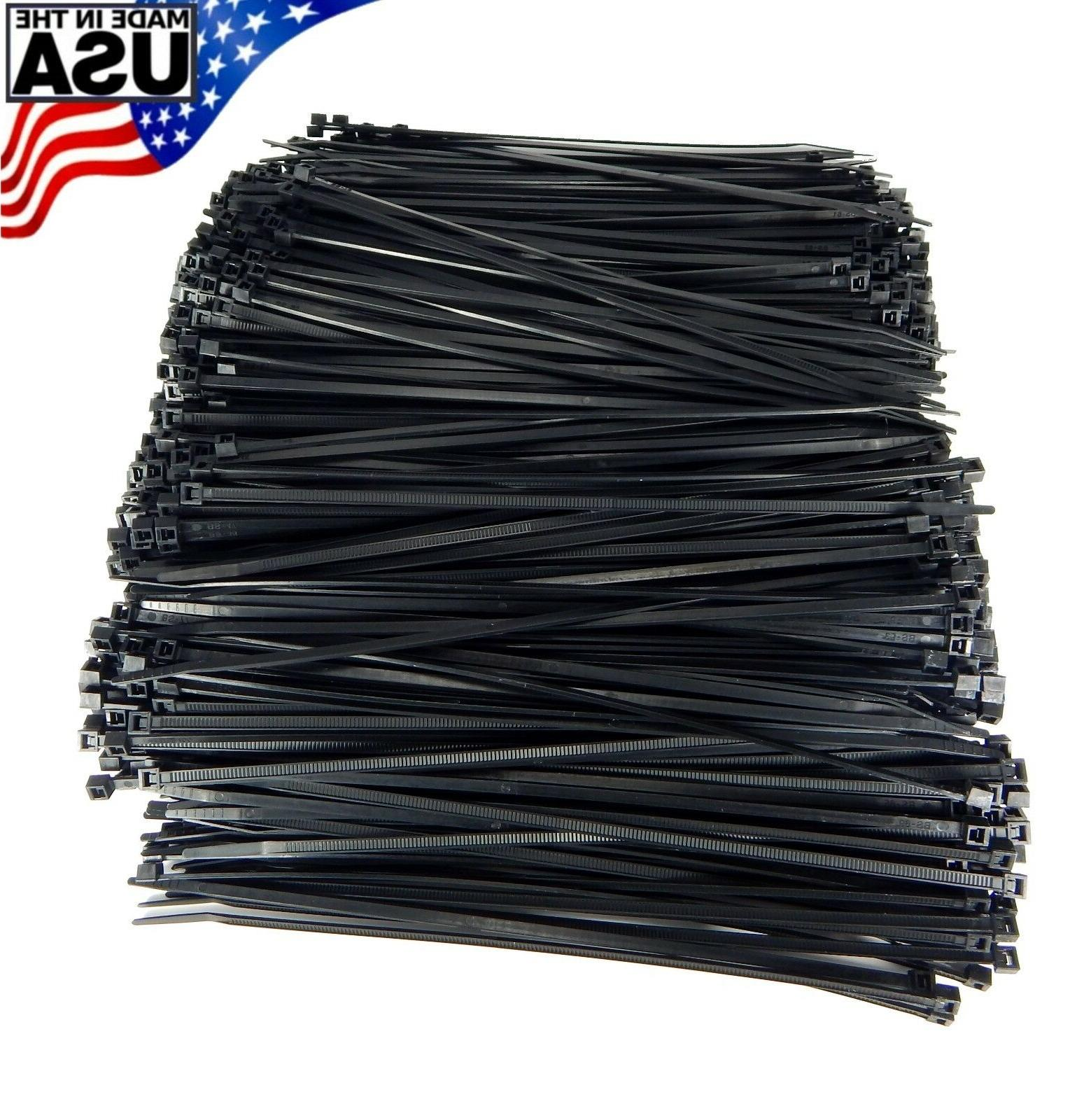 zip cable ties 8 40lbs 1000pc uv
