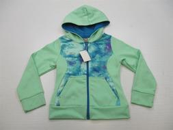 new CHAMPION Size XS Youth Girl's K3230 Thermal Tie-Dye Gree