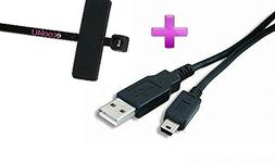Nikon DSLR D50 Compatible USB Cable Mini-Mini USB Cable 10 f