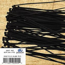 BlueDot Trading nylon cable zip ties-3.5x200 black-100 pack