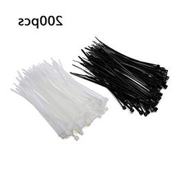 Xingo Nylon Cable Zip Ties Heavy Duty 4 Inch 100Pieces Long