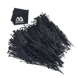 Outus Nylon Cable Zip Ties Self-locking 4 Inch, 1000 Pack