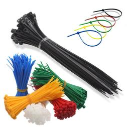 Nylon Plastic Cable Ties Small and Extra Large Zip Ties Wire