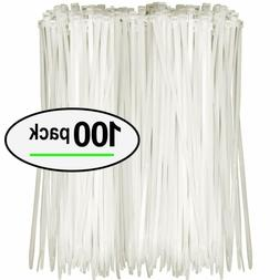 nylon zip ties pack of 100 8