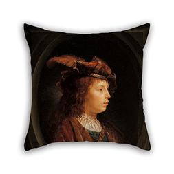 Artistdecor Oil Painting Gerrit Dou - Head Of A Youth Throw