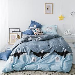 TheFit Paisley Textile Bedding for Teenagers W819 Whale and