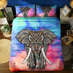 TheFit Paisley Textile Bedding for Young Adult W899 Elephant