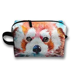 Create Magic - Watercolor Animal Red Panda Student Pen Penci