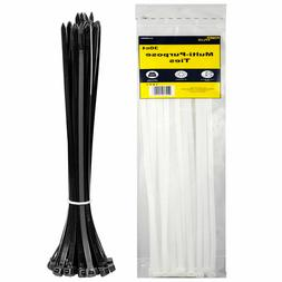 "Power 60 ct Multi-Purpose 14"" Long Heavy Duty Gear Cable Zip"