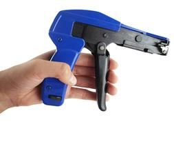 Professional Cable Wire Tie Gun Tool Install Cut Point Zip P