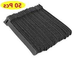 TANKING 50 Pcs Reusable Fastening Cable Ties, Microfiber Clo