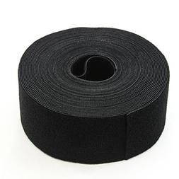30FT REUSABLE 2 Inch Roll Hook & Loop Cable Fastening Tape C