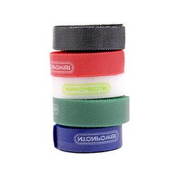 NTONPOWER Reusable Hook Loop Cable Ties Bulky Colored Fasten