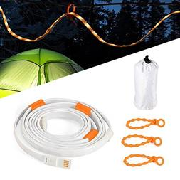 YINGSHOU LED Rope Lights for Camping Hiking Safety and Emerg