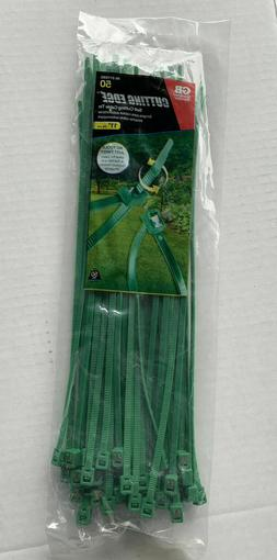 Gardner Bender Self-Cutting 11 in. Green Cable Ties Pack of