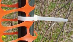 "9"" Self-Locking Nylon Cable Ties with 250 lb. Tensile Streng"