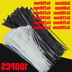Self-locking plastic nylon <font><b>tie</b></font> 100 PCS b