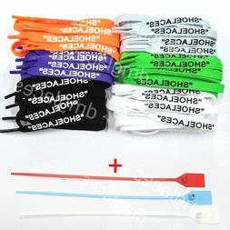 """""""SHOELACES"""" Flat Laces Zip Tie for Off-White The Ten Air"""
