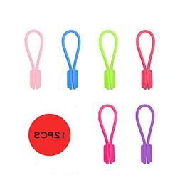 Silicone Magnetic Twist Ties- Multi-use smart tie for Cable