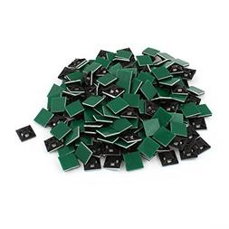 Square Self-Adhesive Cable Tie Mount Bases 12mmx12mm 200 Pcs