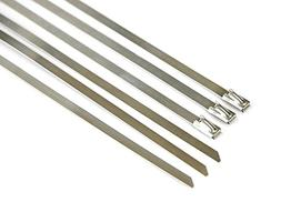 Pro Tie SS20N25 20-Inch Narrow Stainless Steel Cable Ties, 1