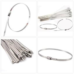 Mini Skater Stainless Steel Zip Ties Heavy Duty Tools with R