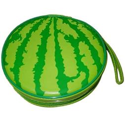 Storage Bags - Green Watermelon Pattern 24 Capacity Cd Dvd R