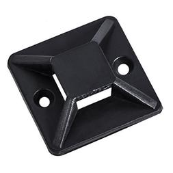 AP Industrial Super Adhesive Cable Tie Mounts With Screw hol