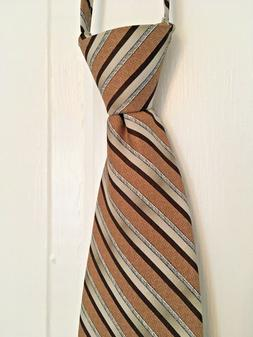 JACOB ALEXANDER Tie ZIP COLLAR Natural Look EASIEST TIE EVER