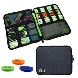 BUBM Universal Cable Organizer Electronics Accessories Case