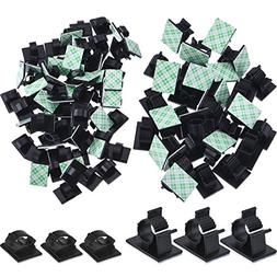 eBoot Upgraded  Adhesive Cable Clips Car Cable Wire Manageme