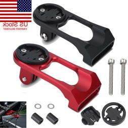 US Alloy Bike Stem Extension Computer Mount Holder For GARMI