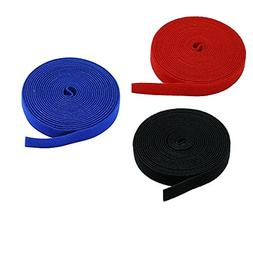 3-Pack Velcro Strips 0.75-inch Hook & Loop Industrial Velcro