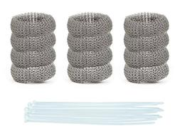Pack of 50 Washing Machine Lint Traps Premium Snare and Rust