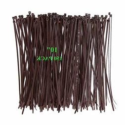 Wide 10 Inch 150 Pack Strong Wood Brown Color Standard Durab