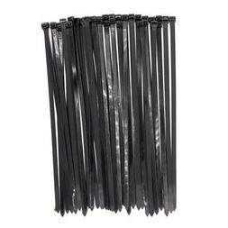 Wide Large 120LBS Tensile 12 Inch Heavy Duty Black Industria