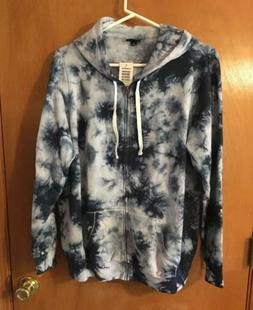 Torrid Women's Tie Dye Long Sleeve Hoodie Zip Front Jacket S