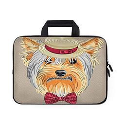 yorkie laptop carrying bag sleeve