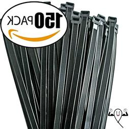 Cable ties 12 inch, by Strong Ties. 150 Double Heavy Duty Ca