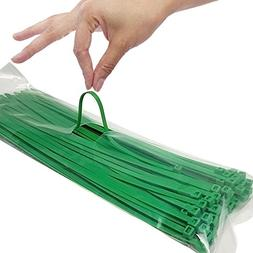 12 Inch Zip Ties, Strong Plastic Wire Ties with 40 Pounds Te